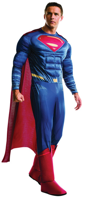 Menu0027s Deluxe Superman Costume  sc 1 st  Halloween Express & Halloween Costumes for Adults