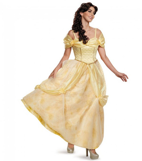 Womenu0027s Prestige Belle Costume  sc 1 st  Halloween Express & Princess Halloween Costumes for Adults