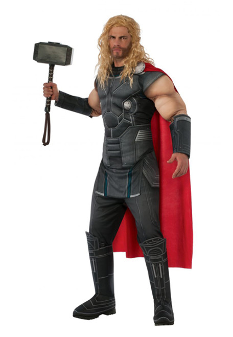 Menu0027s Deluxe Thor Costume RU820687  sc 1 st  Halloween Express & Thor Costumes u0026 Accessories
