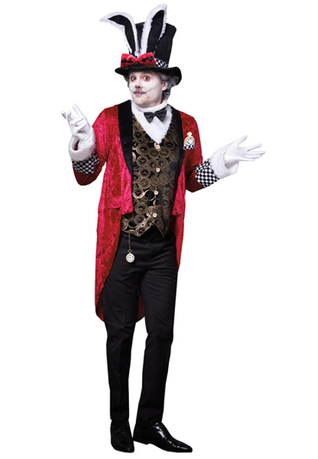 mens white rabbit costume