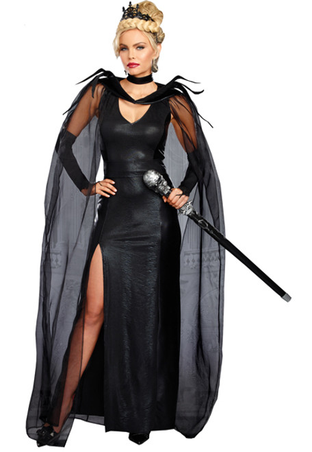 womens queen of mean costume