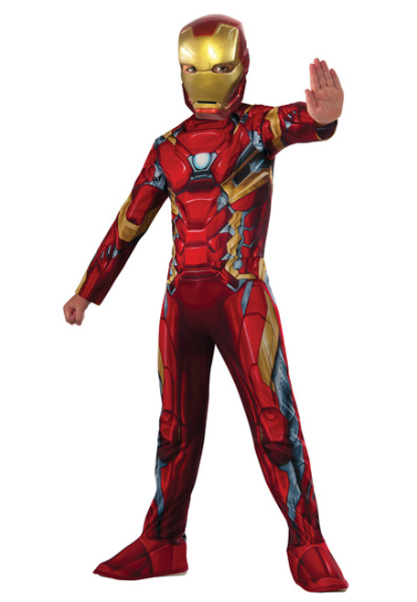 Boyu0027s Iron Man Costume RU620581  sc 1 st  Halloween Express & Costumes from the movie Iron Man