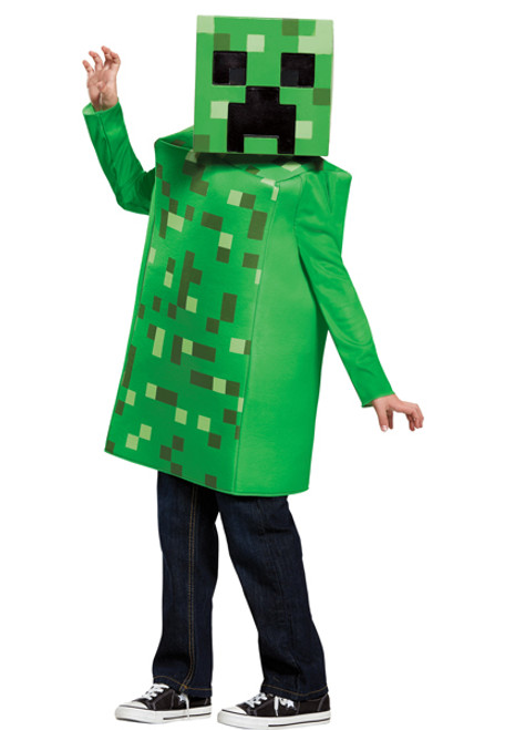 Childu0027s Minecraft Creeper Costume  sc 1 st  Halloween Express & Childu0027s Minecraft Creeper Costume - Halloween Express