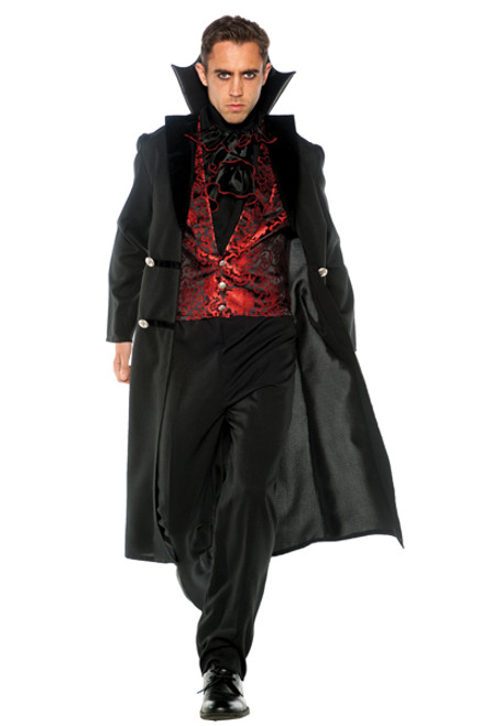 Menu0027s Gothic V&ire Costume UR28695  sc 1 st  Halloween Express & Plus Size Vampires Costumes for Adults