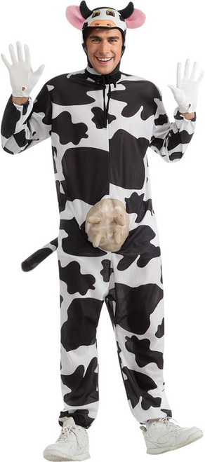 Adult Comical Cow Costume  sc 1 st  Halloween Express & Animal Halloween Costumes for Adults