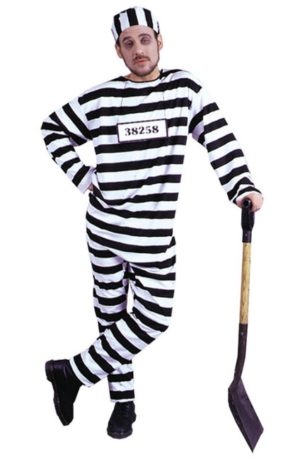 Menu0027s Convict Man Costume  sc 1 st  Halloween Express & Convict Costumes Prisoner Costumes Jailbird Costumes