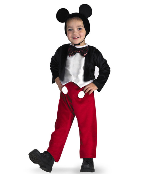 Boyu0027s Mickey Mouse Costume  sc 1 st  Halloween Express & Menu0027s Mickey Mouse Costume - Halloween Express