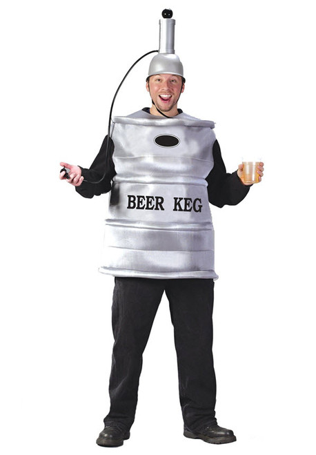 Costumes and accessories for your st patricks day celebration adult beer keg costume solutioingenieria Choice Image