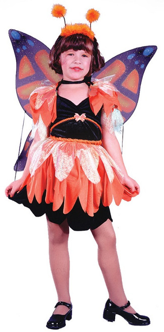 Girlu0027s Butterfly Costume  sc 1 st  Halloween Express & girls halloween costumes girls fairy costumes fairy costumes for ...
