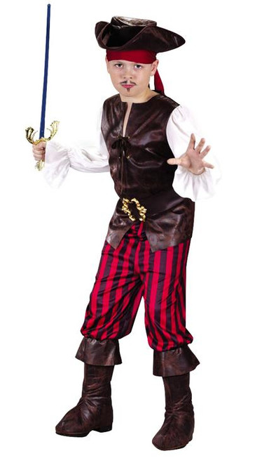 Boyu0027s Buccaneer Pirate Costume  sc 1 st  Halloween Express & Pirate Halloween Costumes for Infants Toddlers Boyu0027s and Girlu0027s