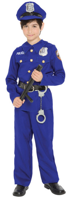 Police Officer Child Costume MR144138  sc 1 st  Halloween Express & Military and Law Enforcement Halloween Costumes for Kids
