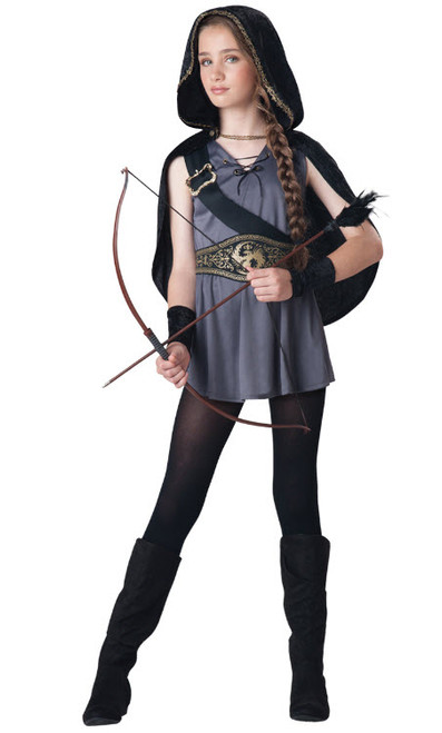 girls huntress costume