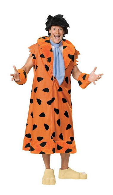 Menu0027s Fred Flinstone Costume  sc 1 st  Halloween Express & Flintstones and Jetsons Costumes