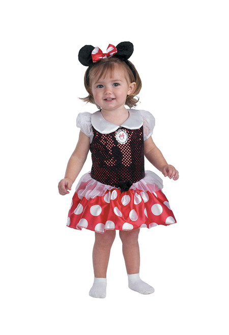 Minnie Mouse Infant Costume  sc 1 st  Halloween Express & Womenu0027s Minnie Mouse Costume DG58791 - Halloween Express