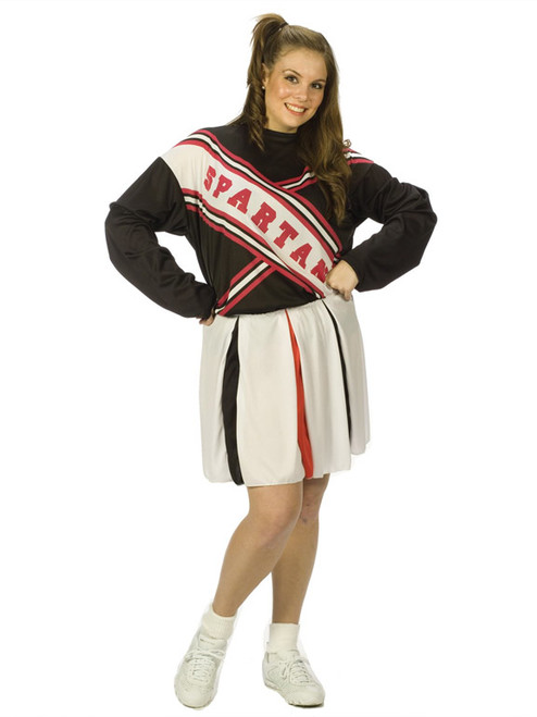 Womenu0027s Spartan Cheerleader Costume  sc 1 st  Halloween Express : toddler cheerleading costumes  - Germanpascual.Com