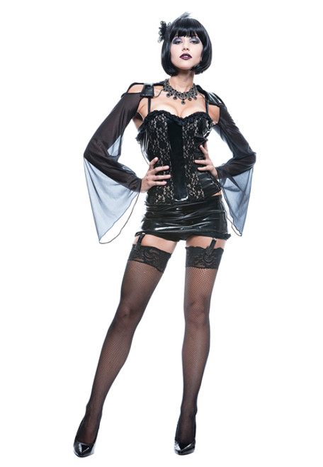 Sexy gothic and vampire costumes midnite mistress costume solutioingenieria Choice Image