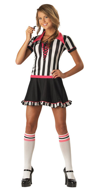 Teen Referee Costume  sc 1 st  Halloween Express & Sports Costumes for Kids
