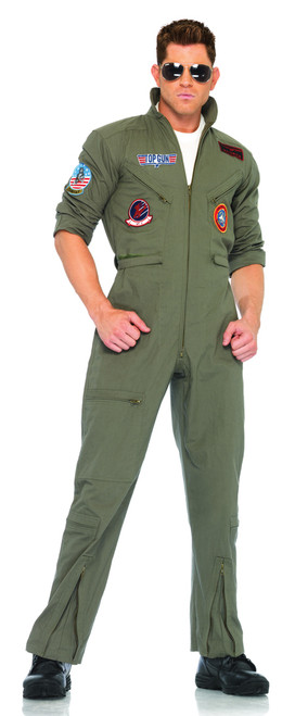 Menu0027s Top Gun Costume UATG83702  sc 1 st  Halloween Express & 80u0027s Halloween Costumes for Men and Women