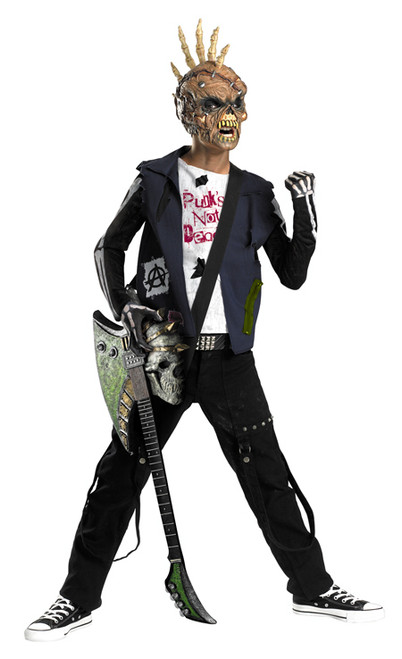 Boyu0027s Punk Zombie Costume DG50081  sc 1 st  Halloween Express & Zombie Costumes for Kids and Teens