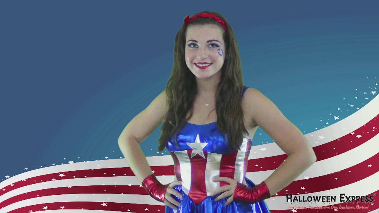How to Create a Ms Captain America Look