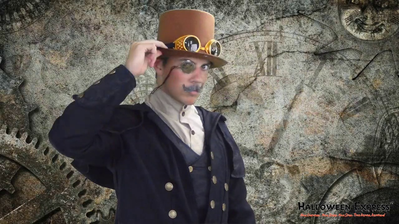 How To Create a Mens Steampunk Costume Look