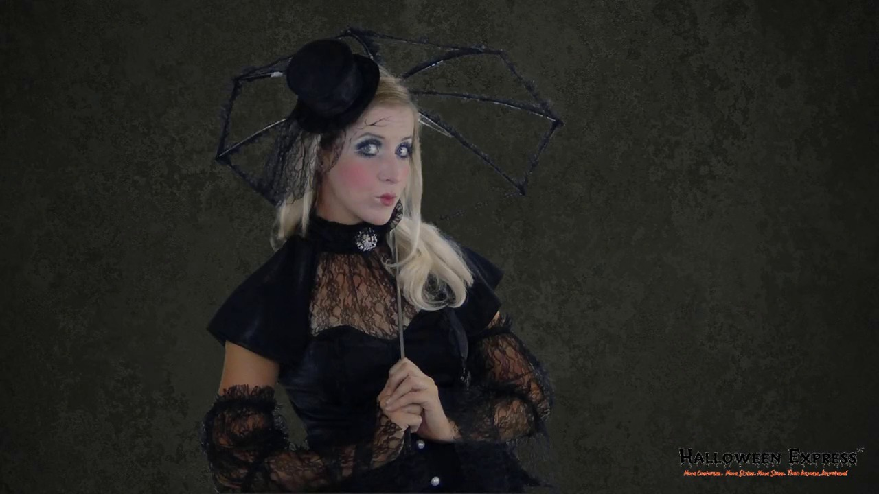 How to Create a Broken Victorian Doll Costume Look