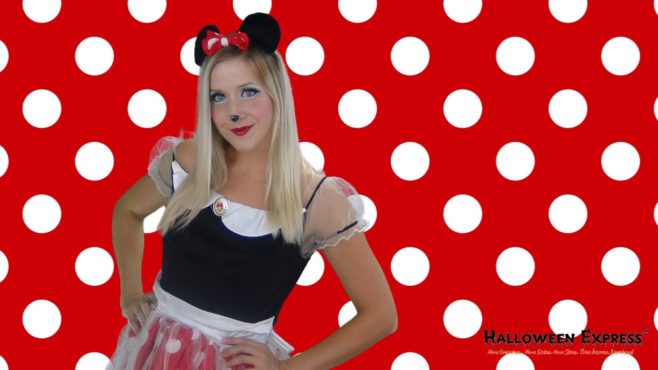 How to Create a Minnie <strong>teenage</strong> Mouse Costume Look