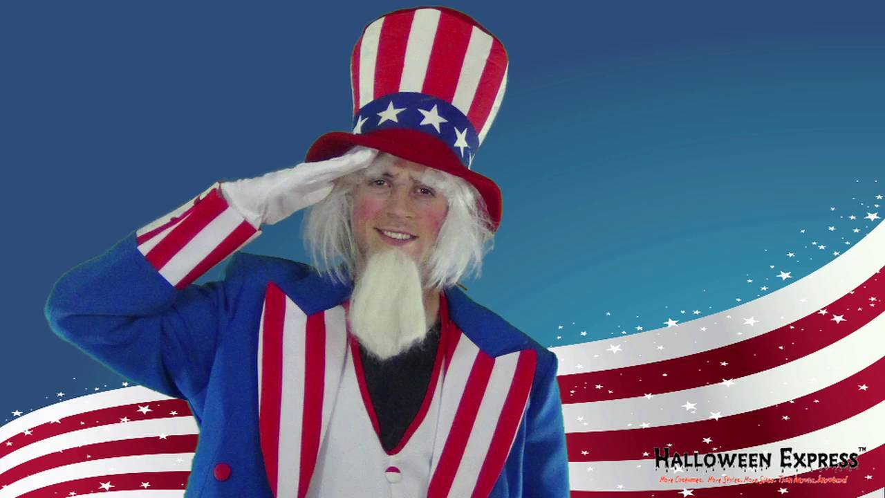 how to create the perfect uncle sam costume look - halloween express
