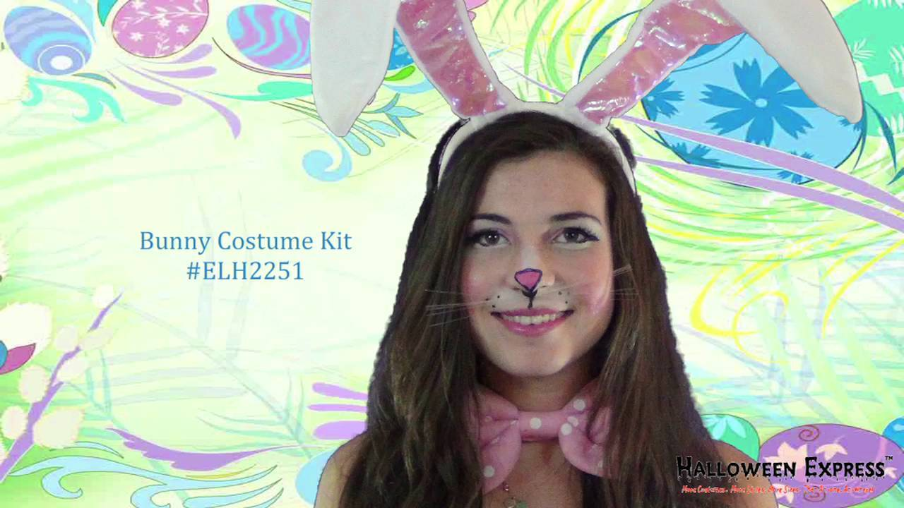 how to create an easter bunny makeup look - halloween express
