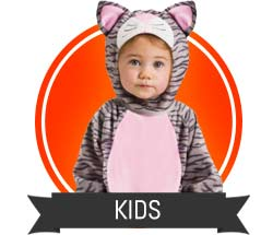 Cat and Kitty Costumes for Kids