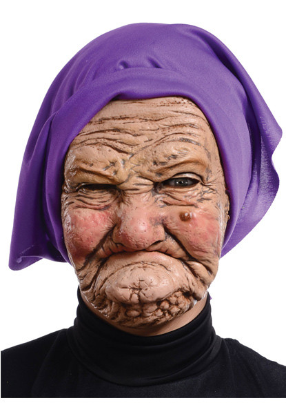 Adult Granny Mask - Halloween Express-8171