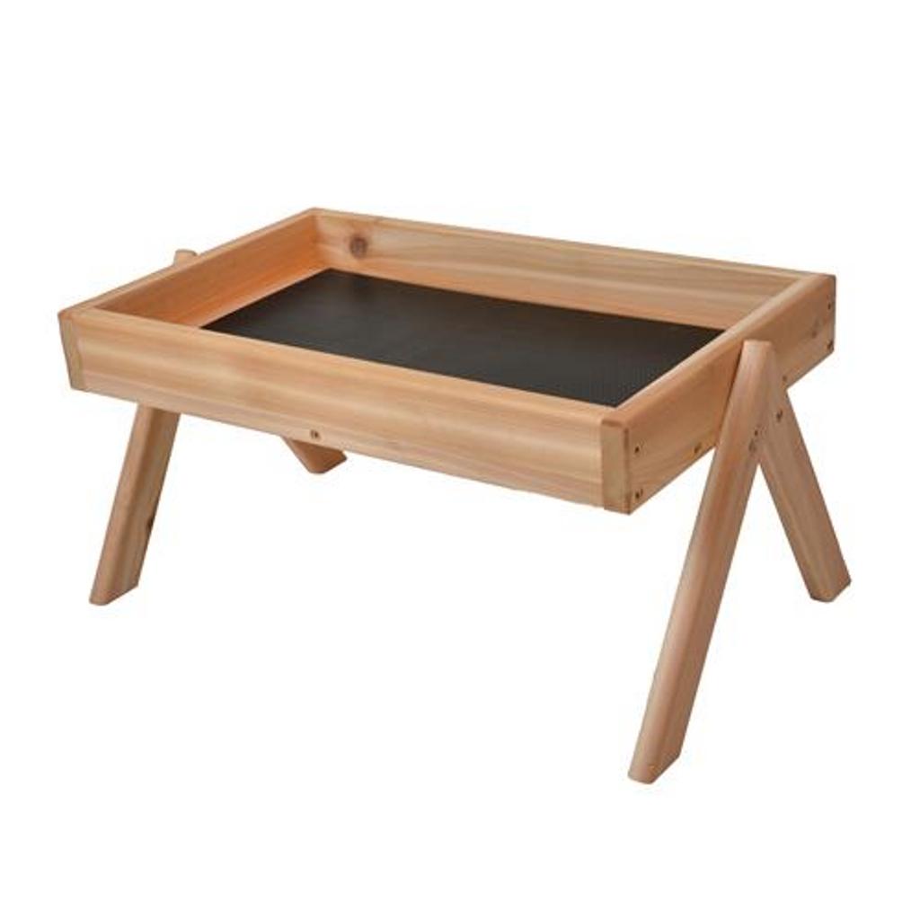 Ground Platform Feeder – Cedar