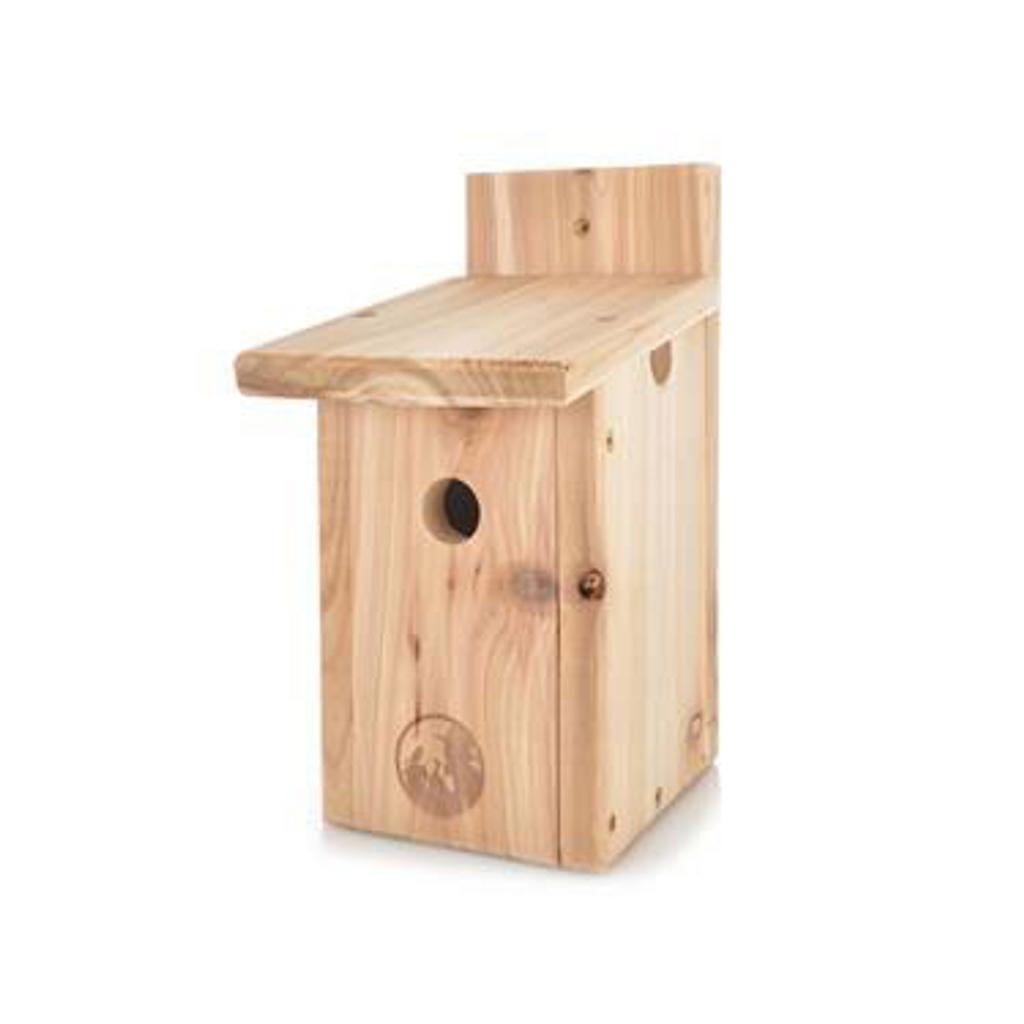 Chick. / Wren Nest Box – Cedar