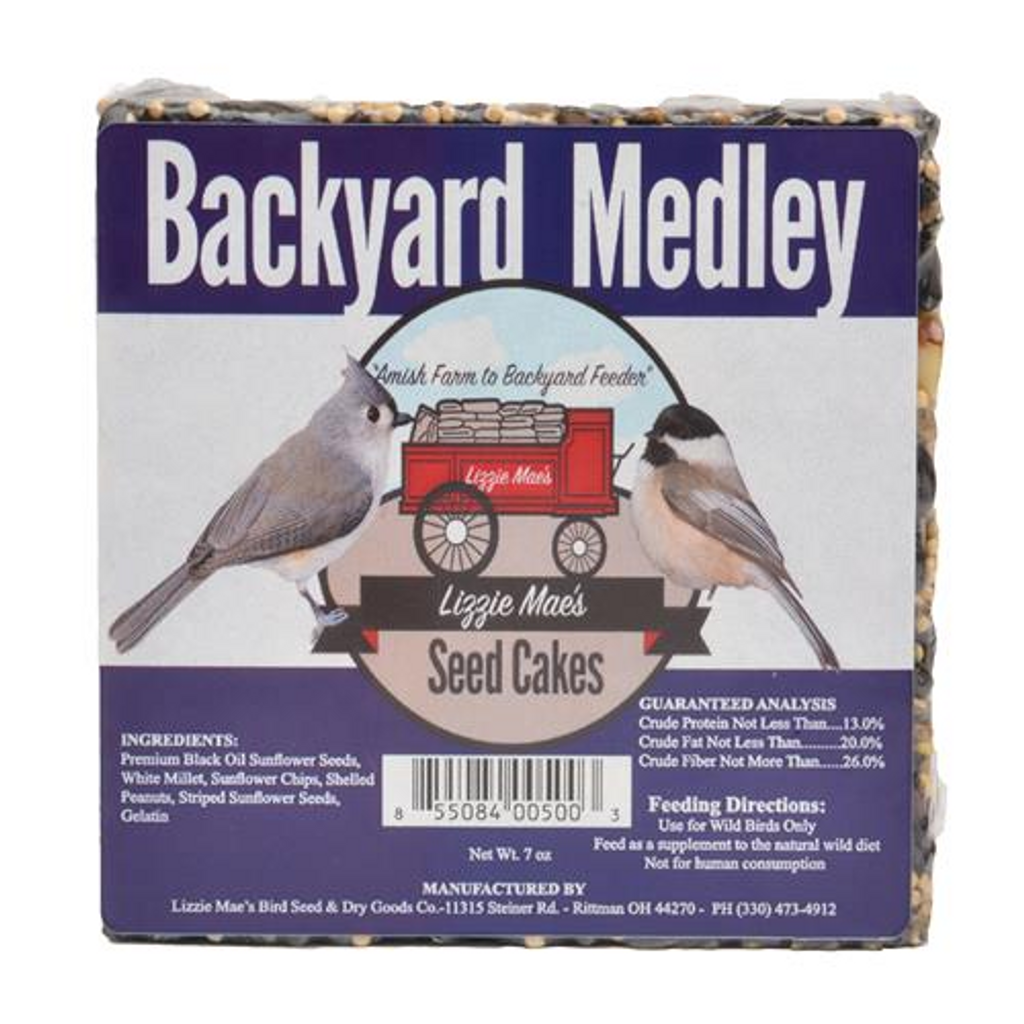 Backyard Medley Seed Cake