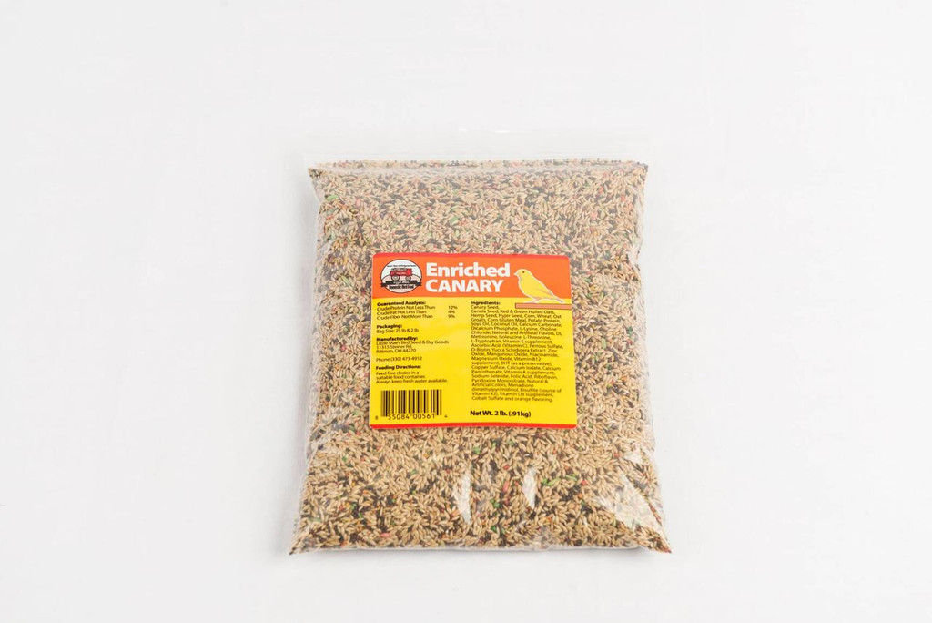 Enriched Canary Food
