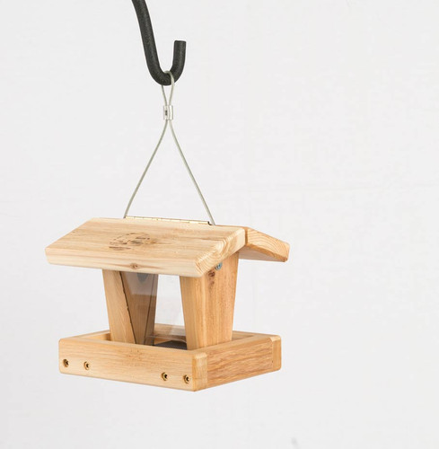 Mini Hopper Feeder – Cedar