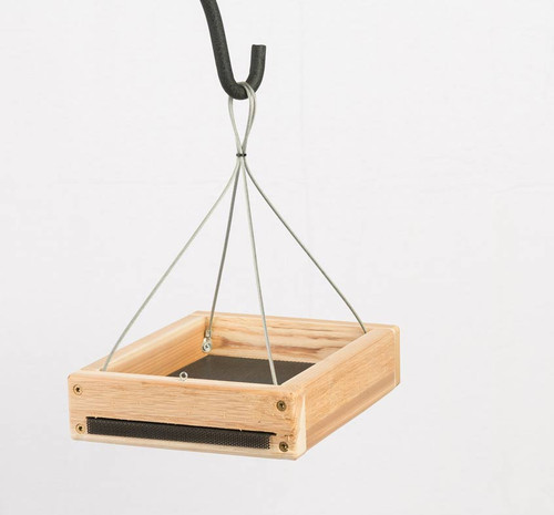 Hanging Tray Feeder – Cedar