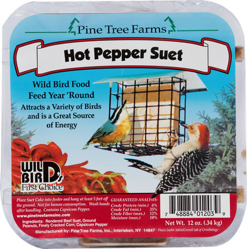 Hot Pepper Suet