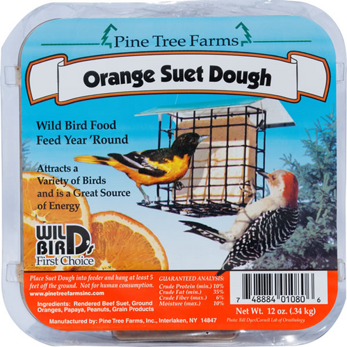 Orange Suet Dough