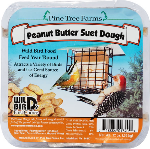 Peanut Butter Suet Dough