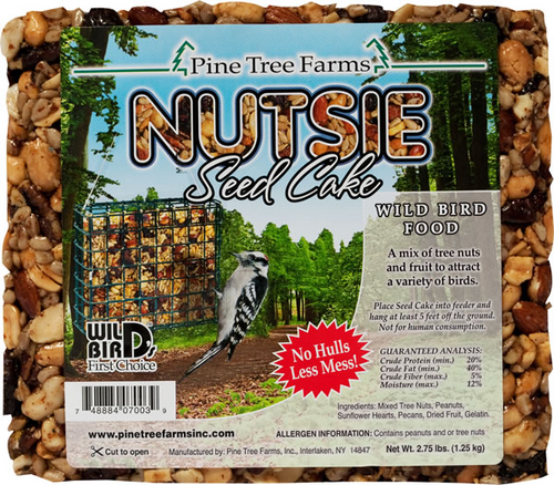 Nutsie Seed Cake 2.75 lbs