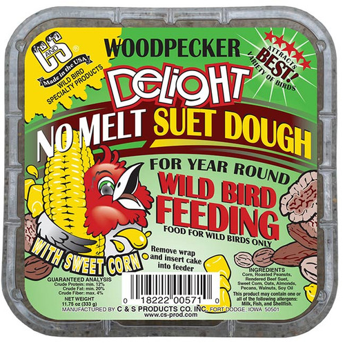 Woodpecker Delight No Melt Suet Dough