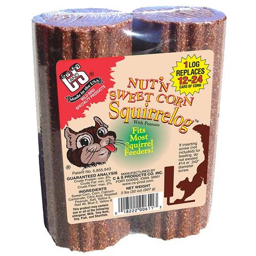 Nut 'N Sweet Squirrelog