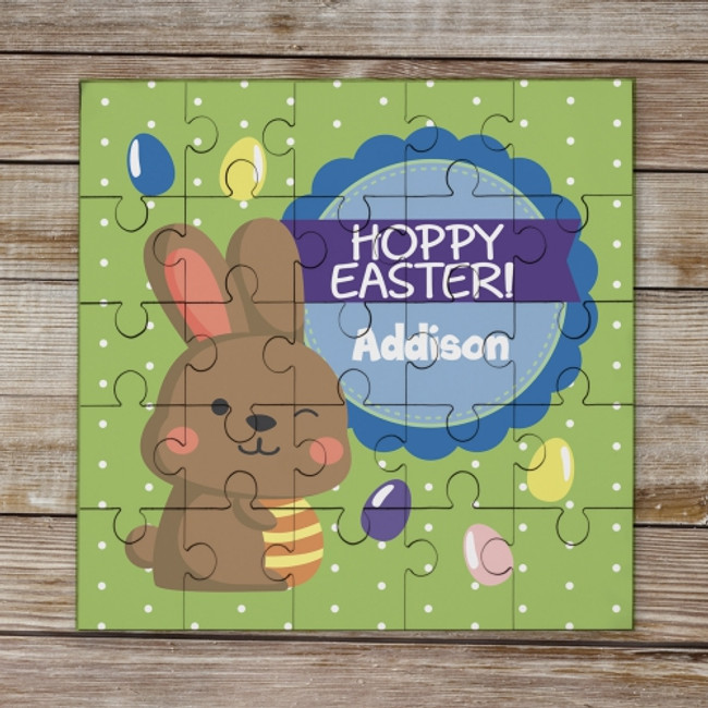 Personalized Easter Puzzle for a special child.