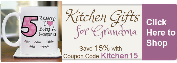 Save 15% on Kitchen Gifts for Grandmas from The BananaNana Shoppe