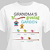 Personalized Growing Garden T-Shirt for Grandma