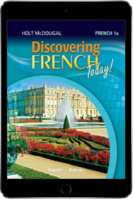 7th grade online textbooks discovering french today 1a online student edition 1 year subscription 2013 fandeluxe Choice Image