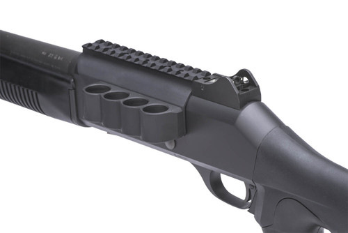 SureShell Carrier And Rail For Ben M4 (4-Shell, 12-GA, 5 1/2 In)