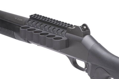 SureShell Carrier And Rail For Ben M4 (6-Shell, 12-GA, 5 1/2 In)
