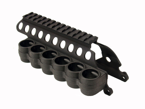 SureShell® Polymer Carrier And Saddle Rail For Rem 870 (6-Shell, 12-GA, 5 In)